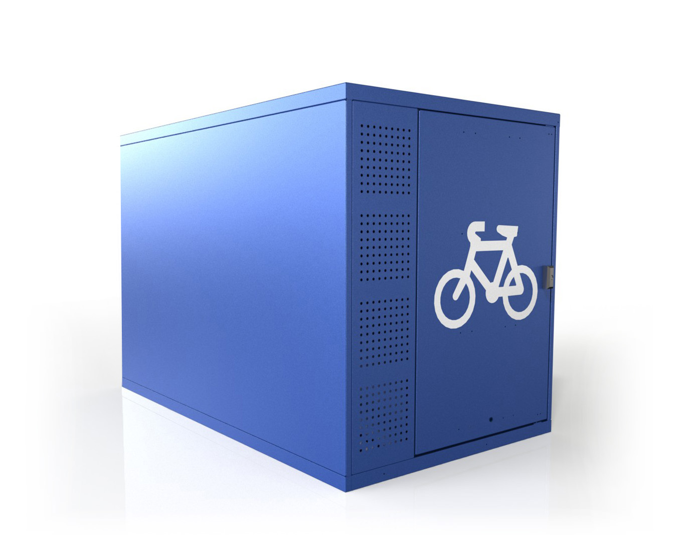 Horizontal Double 2 Bike Locker