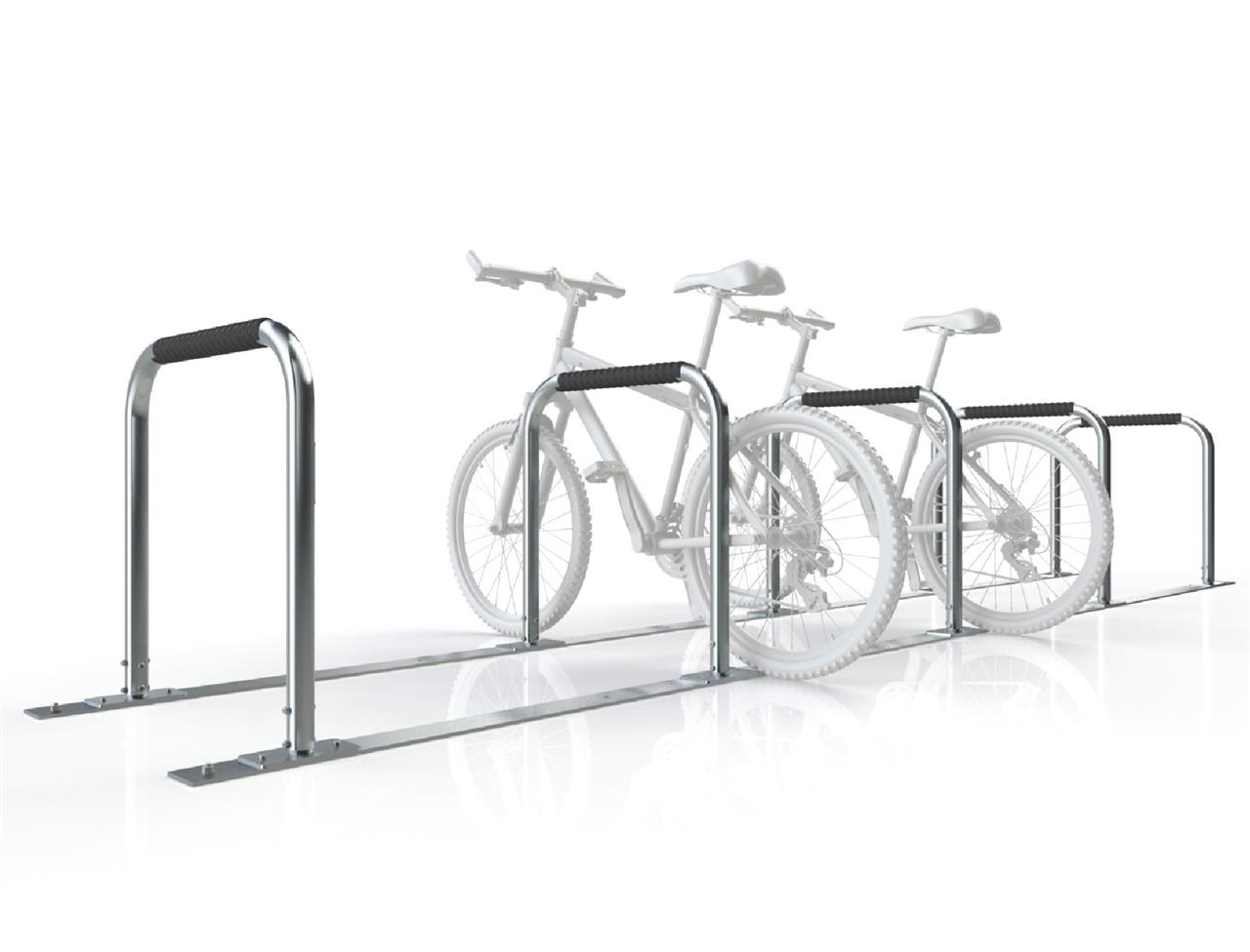 Multiple Hitching Bike Rail