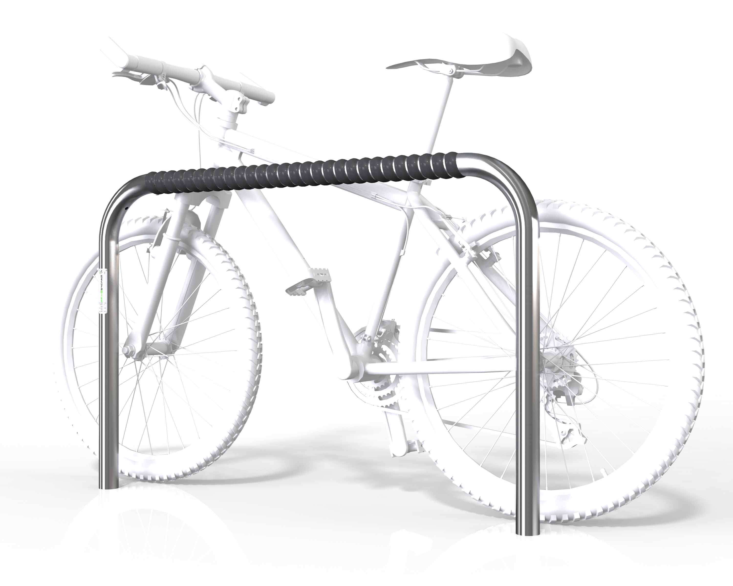 Large 2 Bike Rail - Fixed