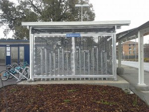 Bike Cage for Bus Interchange