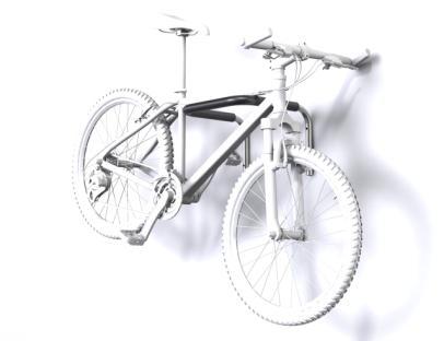 Hanging Wall Mounted Bike Rail