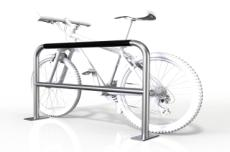 Large with Security Bar 2 Bike Rail - Base Plate